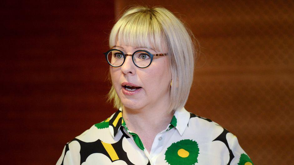Министр здравоохранения Финляндии Айно-Кайса Пеконен