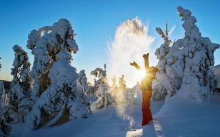Горнолыжный курорт Укко-Коли, Финляндия