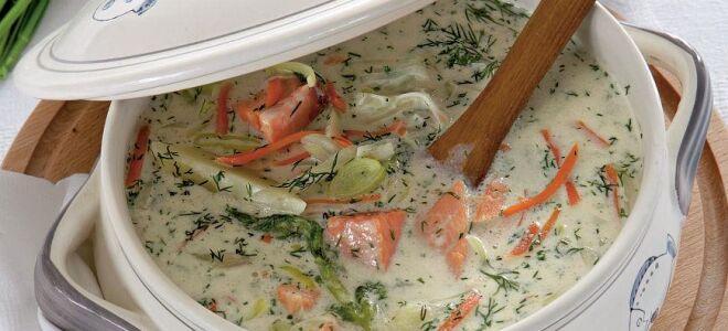 Финский рыбный суп и уха