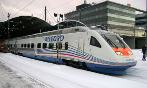 Поезд СПб – Хельсинки