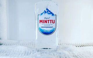 Ментоловая водка из Финляндии – ликер Minttu