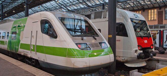 Поезд Хельсинки – Рованиеми